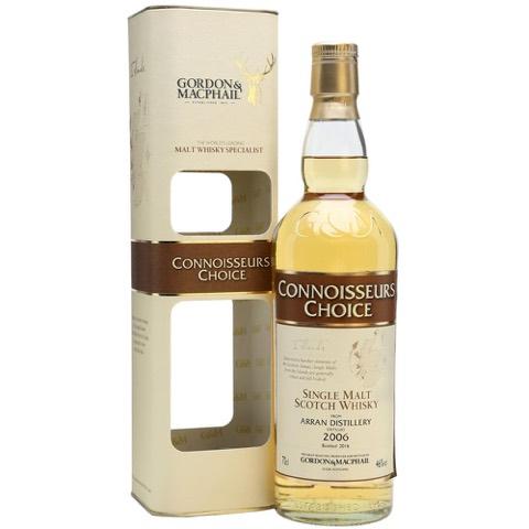 Whisky Single Malt Scotch Distilled 2006 Botled 2016 Connoisseurs Choice Arran Distillery Gordon & Macphail