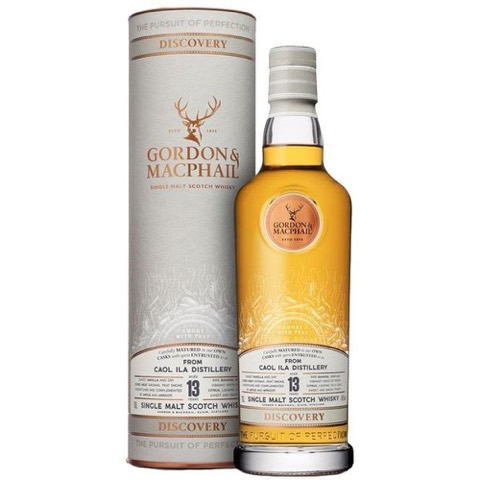 Whisky Single Malt Scotch Islay 13 Years Old Smoke Whit Peat Caol Ila Distillery Discovery Gordon & Macphail