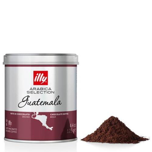 Caffè Espresso Macinato Monoarabica Guatemala Illy Barattolo Gr.125