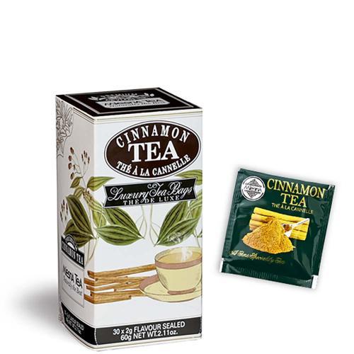 Tè The Premium Ceylon Tea Cinnamon Cannella Mlesna Confezione 30 Filtri