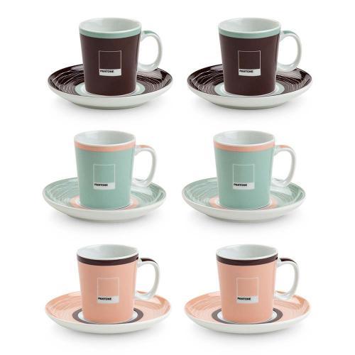 Set 6 Tazzine Caffè Pantone Egan