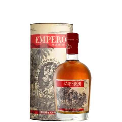Rum Mauritius Sherry Finish Emperor in Astuccio