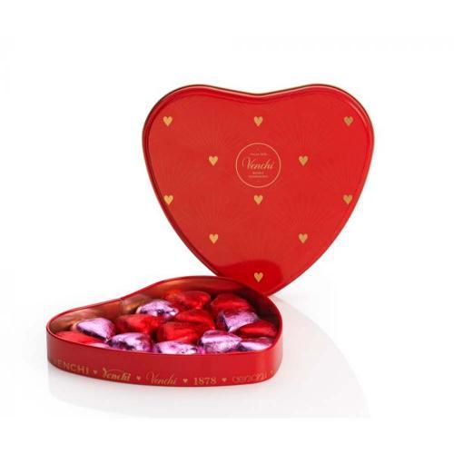 Cioccolatini Assortiti Fondente e latte Valentines Latta Cuore 150 gr