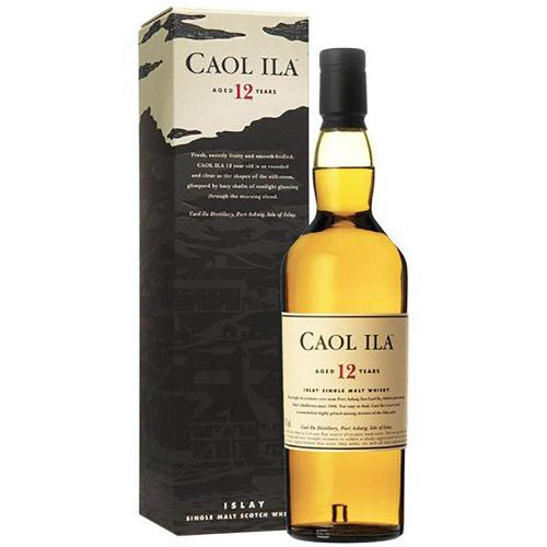 Whisky Scotch Single Malt 12 Years Old Caol Ila 70 Cl