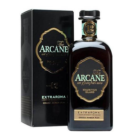 Rum 12 Years Old Ambre Agricole Mauritius Extraroma Arcane 70 Cl