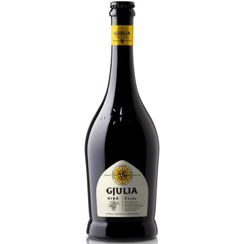 Birra Agricola Friulana Bionda con mosto d'uva di Ribolla Gialla RIBO' Birrificio Gjulia 75 Cl