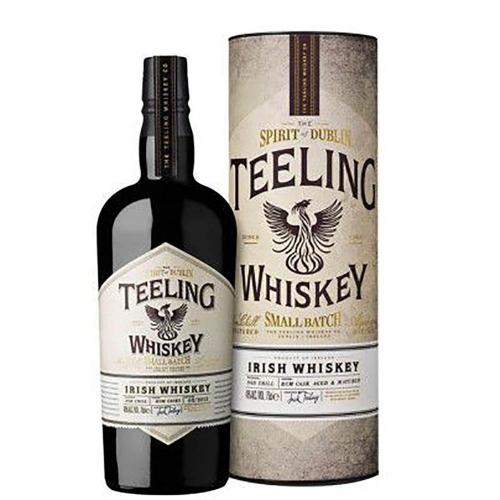 Whiskey Irish Small Batch Non Chill Filtered Rum Cask Aged & Matured Teeling 70 Cl in Tubo
