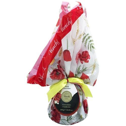 Campana di Pasqua Papaveri e Spighe Cioccolato al Latte Venchi 300 Gr