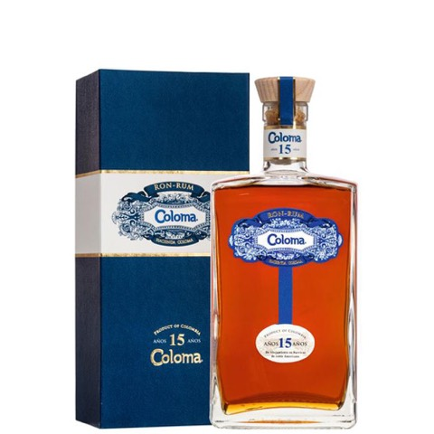 Rum Ron Colombia 15 Years Old Coloma 70 Cl
