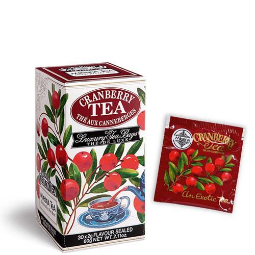 Tè The Cranberry Premium Ceylon Tea Mlesna Confezione 30 Filtri