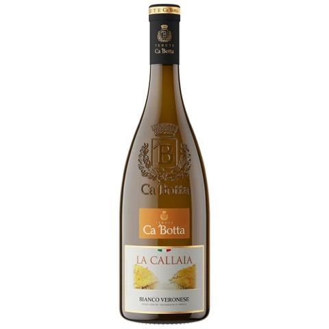 La Callaia Bianco Veneto Garganera Riesling Cà Botta 2014 in Cassa Legno