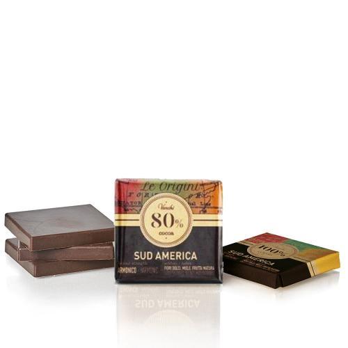 Cioccolatini Granblend Sud America 80% Venchi Busta 1 Kg