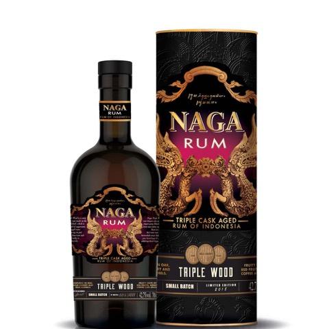 Rum Indonesia Triple Cask Small Batch Naga 70 Cl in Astuccio