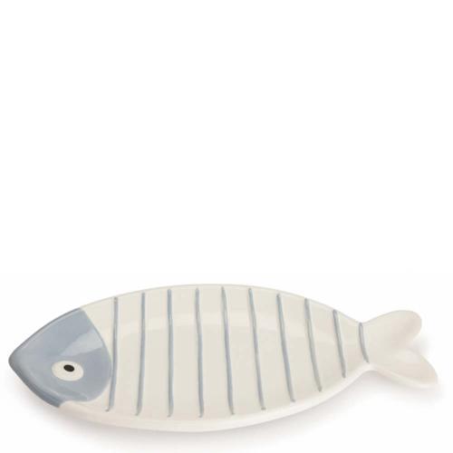 Piatto Acqua di Mare Bianco Ovale Egan 18X12