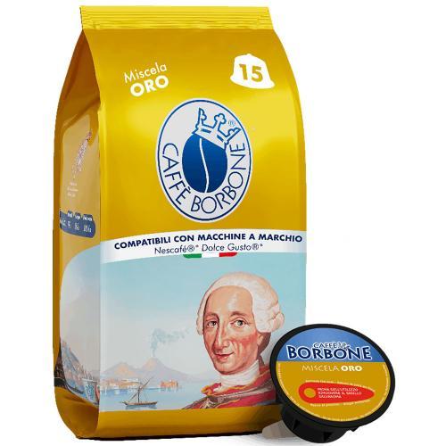 Capsule Dolce Gusto Caffè  Oro Borbone Confezione 15 pz