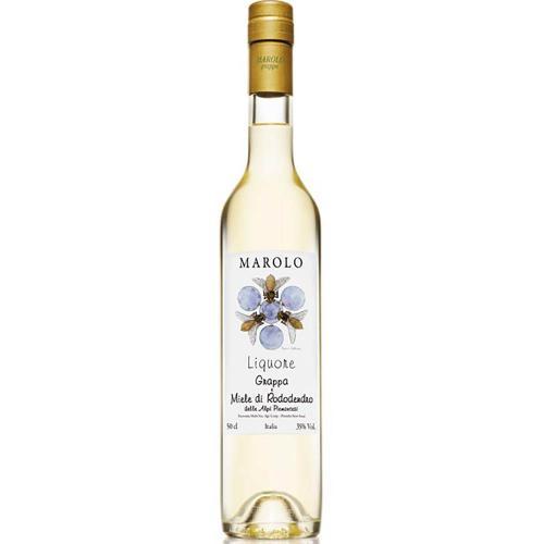 Liquore di Grappa e Miele di Rododendro Marolo 50 Cl in Astuccio
