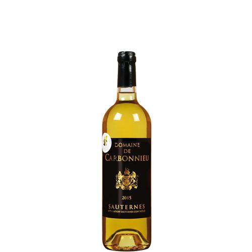 Sauternes Domaine de Carbonnieu 2016 375 Ml