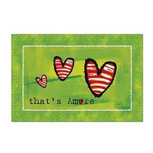 Tovaglietta That's Amore Verde Egan 45x30