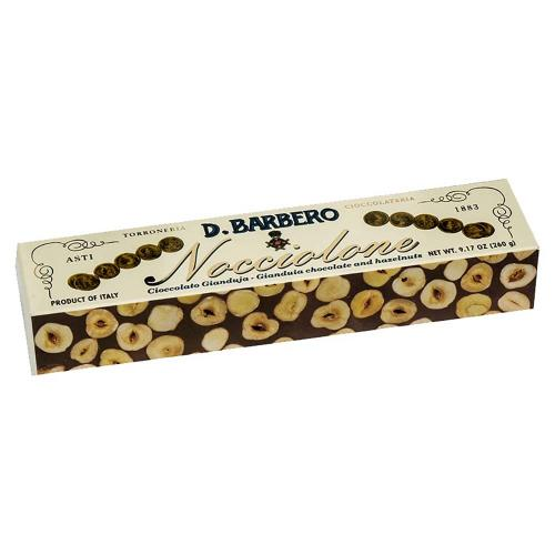 Nocciolone al Cioccolato Gianduja Torroneria Barbero 260 Gr.