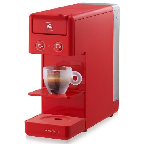 Macchina da Caffè a Capsule Y3 Iperespresso Illy Colore Rosso Red