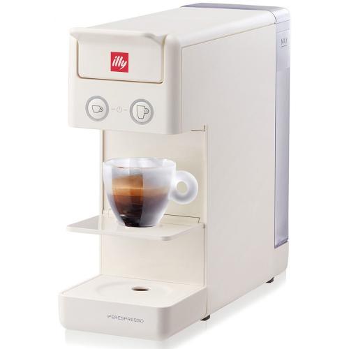 Macchina da Caffè a Capsule Y3 Iperespresso Illy Colore Bianco White