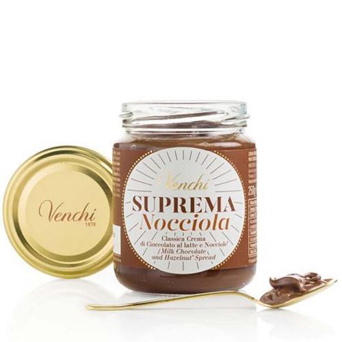 Crema Spalmabile Suprema di Cioccolato al Latte e Nocciole Venchi 250 gr