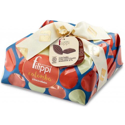 Colomba al Cioccolato Maranta 61% Pasticceria Filippi 1 Kg