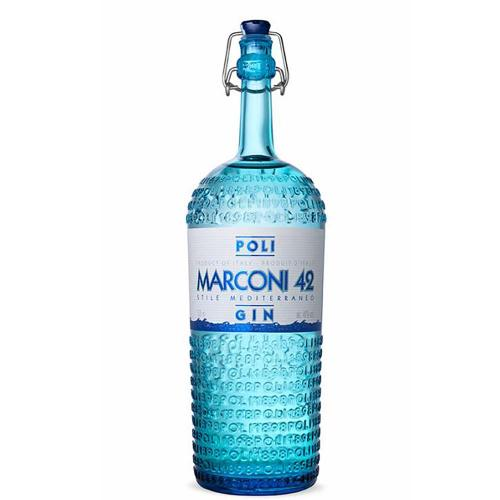 Gin Mediterraneo Marconi 42 Distillerie Poli 70 Cl