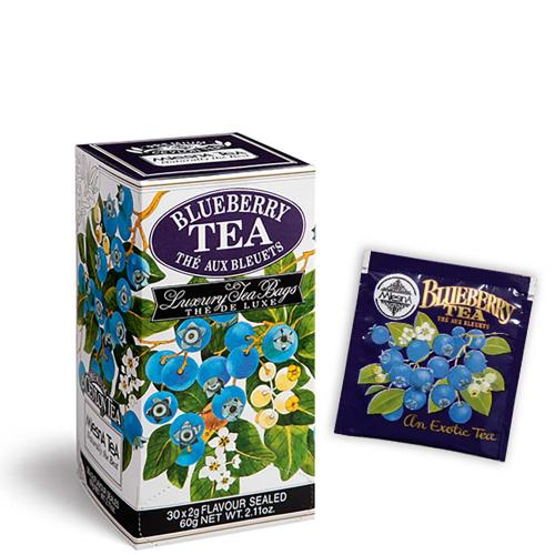 Tè The Blueberry Premium Ceylon Tea Mlesna Confezione 30 Filtri
