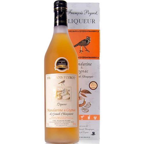 Liqueur au Cognac Mandarine Peyrot 70 Cl in Astuccio