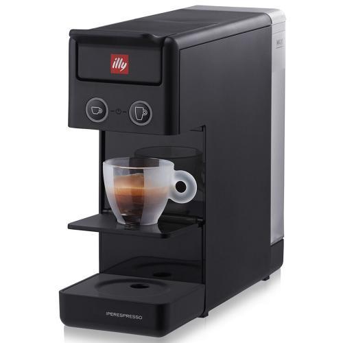 Macchina da Caffè a Capsule Y3 Iperespresso Illy Colore Nero Black