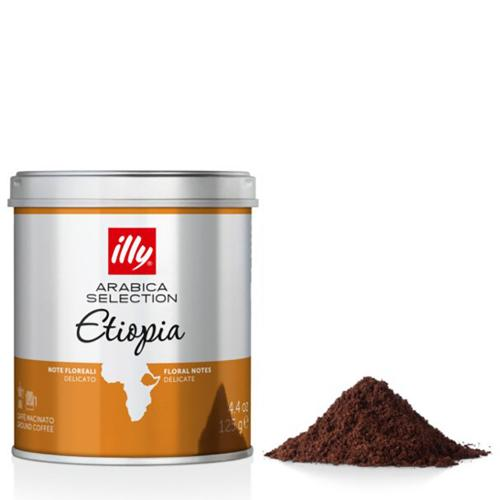 Caffè Espresso Macinato Monoarabica Etiopia Illy Barattolo Gr.125