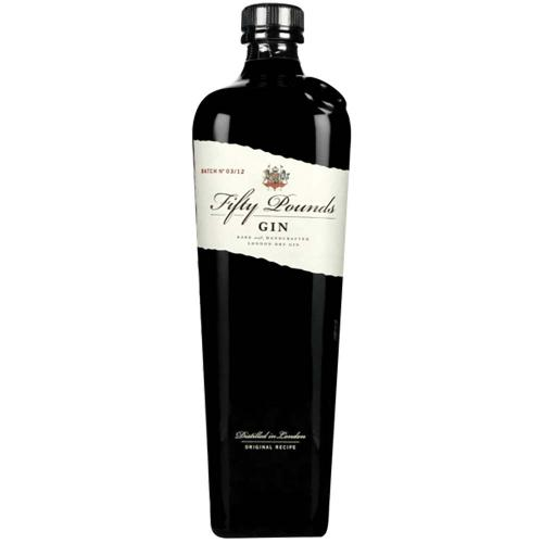Gin London Dry Fifty Pounds 70 Cl