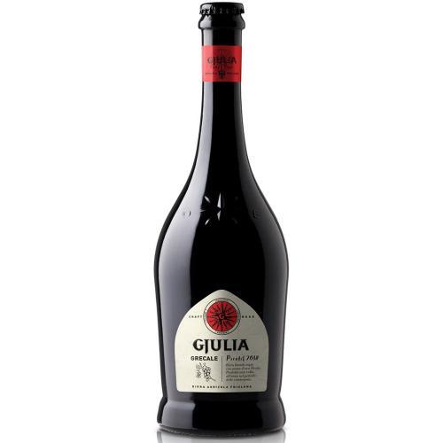 Birra Agricola Friulana Bionda con mosto d'uva di Picolit GRECALE Birrificio Gjulia 75 Cl