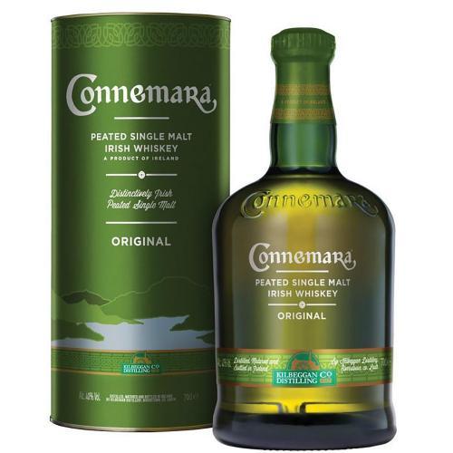 Whiskey Irish Peated Single Malt Connemara 70 Cl in Astuccio
