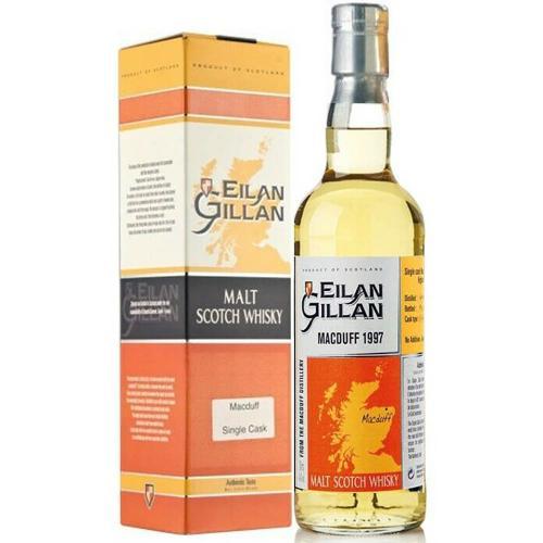 Whisky Scotch Single Cask Bourbon Wood Macduff Distillery Highlands Eilan Gillan Leopold Gourmel 70 Cl
