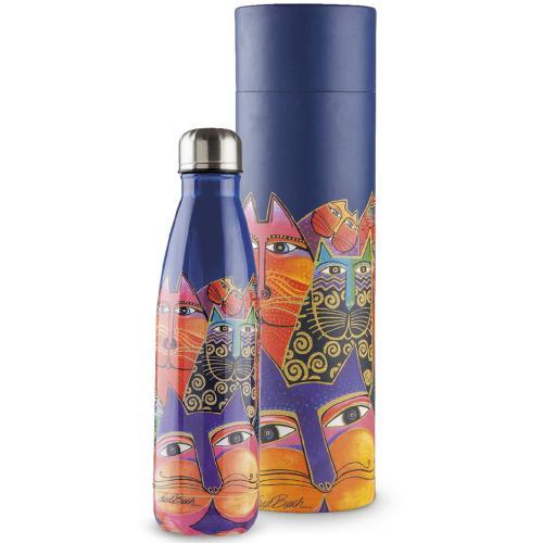 Bottiglia Termica Ml 500 Laurel Burch Colore Blu Egan