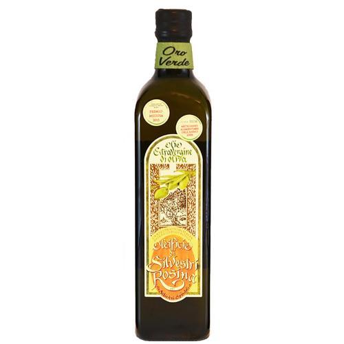 Olio Extra Vergine di Oliva Marasca ORO VERDE  (Gusto Fruttato) Oleificio Silvestri Rosina 75 Cl