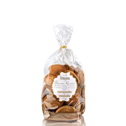Biscotti Rustici ai Cereali Virginia Sacchetto Gr 300