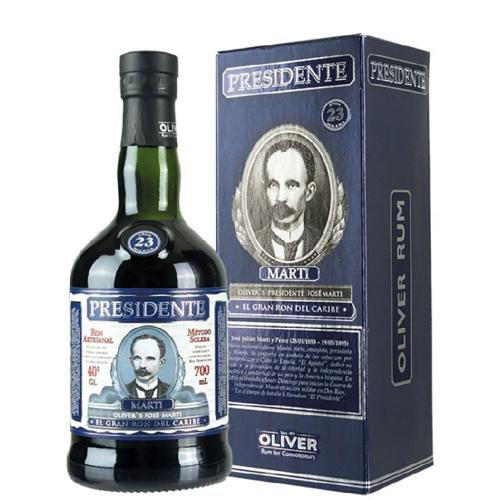 Rum 15 Years Old Solera Olivers's Presidente Jose Marti 70 Cl