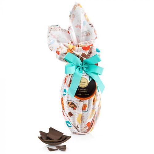 Uovo Cioccolato Extra  Fondente Cucina con Grembiule Venchi 220 Gr