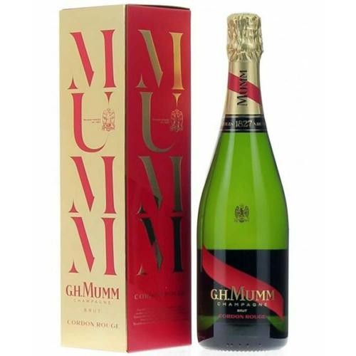 Champagne Brut Cordon Rouge G.H. Mumm 70 Cl in Astuccio