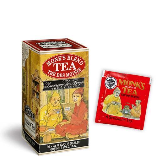 Tè The Monk's Blend Premium Ceylon Tea Mlesna Confezione 30 Filtri