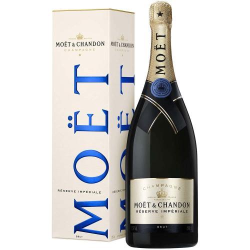 Champagne Brut Reserve Imperial Moet & Chandon Magnum 1,5 Lt in Astuccio