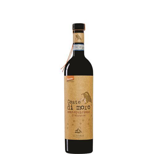 Montepulciano D'Abruzzo Coste di Moro Demeter Lunaria Cantina Orsogna 2016 375 ml