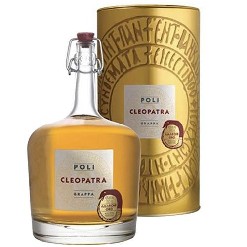 Grappa di Amarone Oro Cleopatra Jacopo Poli in Astuccio 70 Cl