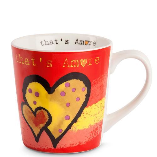 Mug That's Amore Rosso Egan