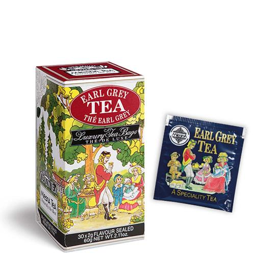 Tè The Earl Grey Cream Premium Ceylon Tea Mlesna Confezione 30 Filtri