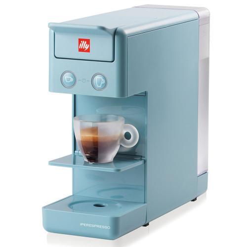Macchina da Caffè a Capsule Y3 Iperespresso Illy Colore Azzurro