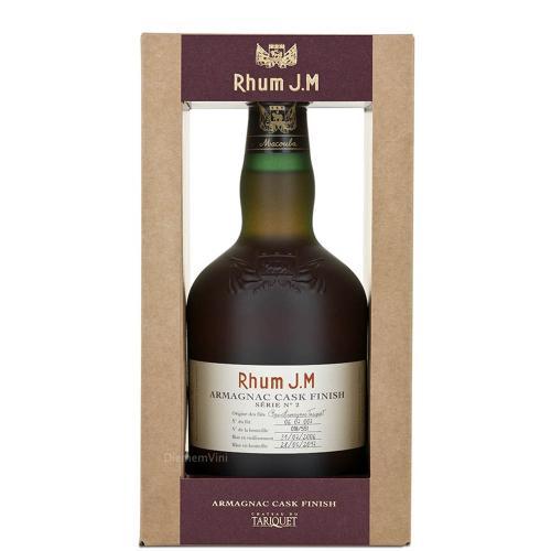 Rum Rhum Agricole Martinique Millesime 2006 Bas Armagnac Tariquet Cask Finish J.M 50 Cl